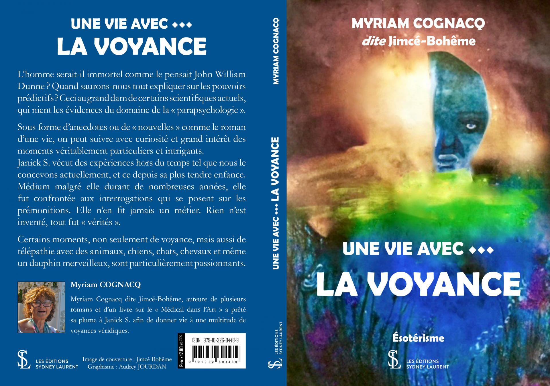 Couverture de livre cognacq myriam